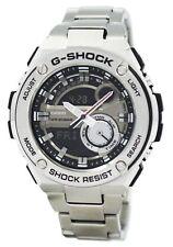 Casio Dial Stainless-Steel Bracelet Sport G-SHOCK G-STEEL Watch GST210D-1A