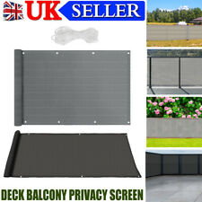 More details for privacy garden patio screen fence cover windbreak netting panel balcony sunshade