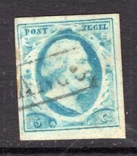 1¢ WONDER ~ NETHERLANDS #1 VF USED SM THIN ~ C762