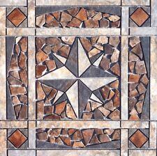 """21 13/16"""" Tile Medallion Inlay Mosaic - Lamosa Zion tile series"""