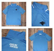 NFL Carolina Panthers NIKE Dri Fit Team Issue On Field Polo Shirt Men Large    1