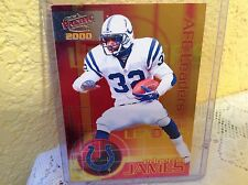 INDIANAPOLIS COLTS EDGERRIN JAMES 2000 PACIFIC AFC LEADERS CARD # 4 NFL FOOTBALL