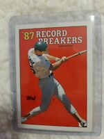 1988 Topps Mark Mcgwire #3 Baseball ERROR CARD!WHITE TRIANGLE BY LEFT FOOT!