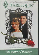 Harlequin Romance Series - This Matter of Marriage (DVD, 2003, The Harlequin...