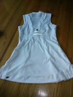 ADIDAS CLIMACOOL 365 WHITE TENNIS ATHLETIC DRESS - SIZE L
