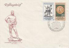 DDR FDC Ersttagsbrief 1960 Dresdner Kunstsammlungen Mi.Nr.791+92