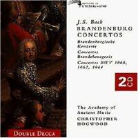 HOGWOOD - BRANDENBURGISCHE KONZERTE 1-6 2 CD NEU