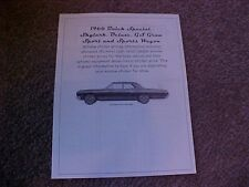 1966 Buick Special cost/dealer retail sticker pricing for car + options $