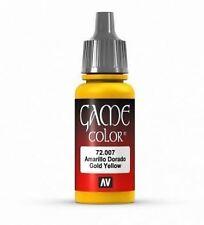Vallejo Game Color 17 ml Pittura Acrilica 7 oro giallo