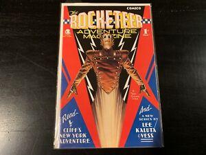 The Rocketeer Adventure Magazine #1 9.2 NM 1988 Comico