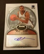 Alexander Johnson Grizzlies Florida State 2007 Bowman Signed Certified JN15