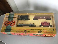 1962 # VINTAGE TRAIN treno RIVAROSSI SET con impianto 40208 # IN BOX