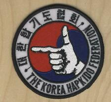 "THE KOREA HAPKIDO FEDERATION 3.5"" PATCH"