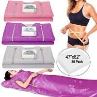 Far Infrared Sauna Blanket Heating therapy Slim Bag SPA Body Detox w/zipper USA