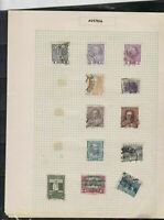 austria 1890 stamps page ref 18468