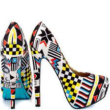 Roddie - Navaho Platform Heels by Taylor Says sz 6  new  L700