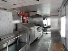 4 Ft Type l Exhaust Hood / Blower / Roof Curb / For Concession Trailer