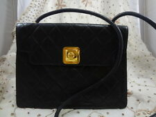 Authentic Vintage CHANEL 2.55 Leather Messenger Shoulder Bag Purse LIMITED T163