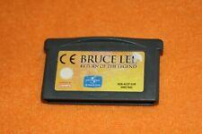 Bruce Lee Return of the Legend Nintendo Gameboy Advance DS