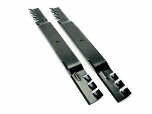 """(2) Toothed Mulching Mower Blades for Toro Timecutter SS4216 SS4235 SS4260 42"""""""