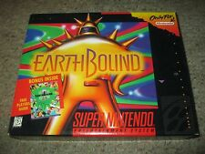 EarthBound (Super Nintendo Entertainment System SNES, 1995) Complete w/ Guide