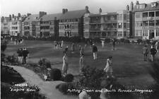 Putting Green Golf South Parade Skegness RP pc used 1920's Empire View