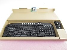 LOT OF 5: V7 KM0B1 USB WIRED KEYBOARD & MOUSE
