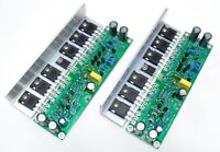 Assembled L15 HIFI stereo MOSFET power amplifier board with Angle aluminum