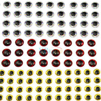 Lot 500pcs Fishing Lure Eyes 3D Holographic Stickers for Fly Tying Craft 3/4/5mm