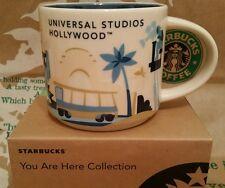 Starbucks Coffee Mug/Tasse/Becher UNIVERSAL STUDIOS HOLLYWOOD, NEU i.OVP/Box!