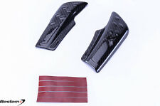 2009 - 2014 BMW S1000RR HP4 100% Carbon Fiber Swingarm Covers Guards, Twill