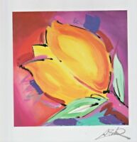 "Alexander Gockel 7""x7"" Seriolithograph Bringing Happiness COA Signed in Plate"