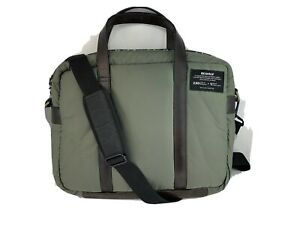 Ecoalf Green Puffer Messenger Bag NWT
