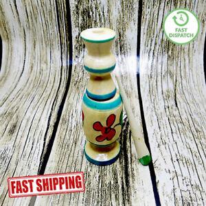 Kohl Wooden Mascara Bottle Moroccan Eyeliner Powder Handmade Natural Berber كحل