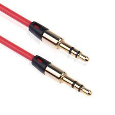 3.5mm Mâle vers Mâle Jack Stéréo Aux Audio Câble Adaptateur PR MP3 MP4 ipad Tab