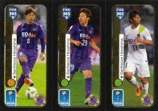 Panini Sticker Fifa 365 2017 Nr. 656a Kazuyuki Morisaki 656b Takuma Asano 656c H