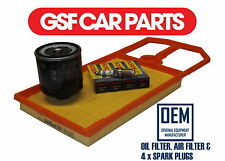 Service Kit Oil Air Filters & Spark Plugs Replacement Part Seat Arosa 1.4 16V