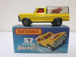Matchbox - #57 Wild Life Truck