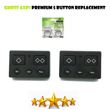 For Ghost Controls axr1 Premium 5-Button Remote Transmitter Gate Opener 2 Pack