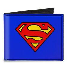 SUPERMAN Wallet Portafoglio Logo OFFICIAL MERCHANDISE