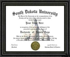 Prairie Dog Lover's Doctorate Diploma / Degree Custom made & Designed for you