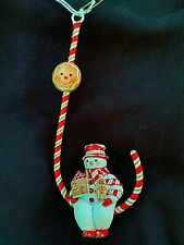 New ListingCandied Snowman Gingerbread Patricia Breen