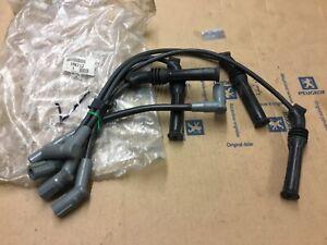 Peugeot Citroen 205 309 405 MI16 XU9JA HT Lead Ignition Cable set genuine 5967L2