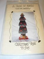 CHRISTMAS TREE WOODCRAFTS WOOD TOLE PAINTING HOME DECOR PROJECT HOLIDAY PATTERN
