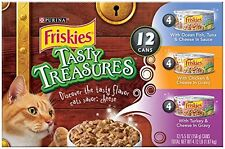 12-5.5 Oz Cans Variety Pack Purina Friskies Variety Pack Cat Food Growth Kittens