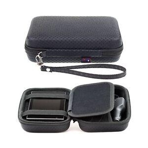 Black Hard Carrying Case for Garmin Drive 52 51 50 Drivesmart 55 51 50 Drivea...