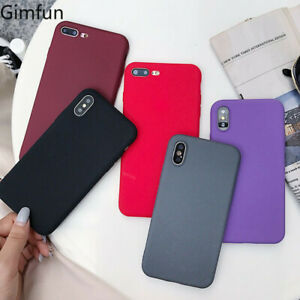 Soft TPU Silicone Phone Case Cover for Apple iPhone 12 11Pro Max XR X XS 8 7 6