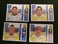 Panini Champions League 2011-12 x16 stickers Borussia Dortmund