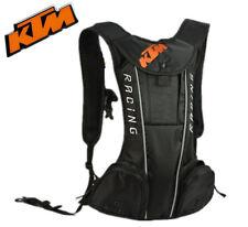 New Black KTM Motorcycle Bike Riding Hydration Water Bag Camel Pack Backpack