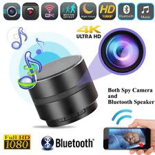 Wireless Bluetooth Speaker Spy Hidden Camera HD 1080P WIFI Night Vision 4K Video